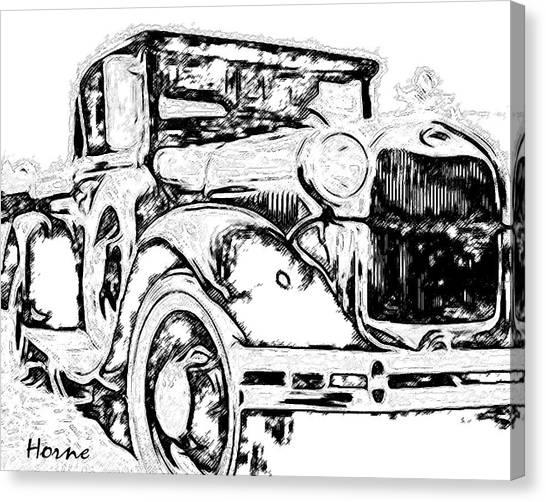 street machine canvas prints page 26 of 30 fine art america 1964 Chevy Malibu Wagon street machine canvas print mr ford s lady by john horne