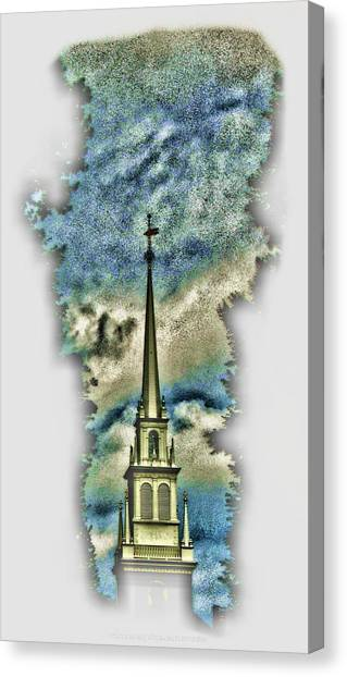 Old North Church Steeple Canvas Print