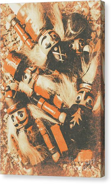 Handcrafted Canvas Print - Old Nutcracker Infantry  by Jorgo Photography - Wall Art Gallery