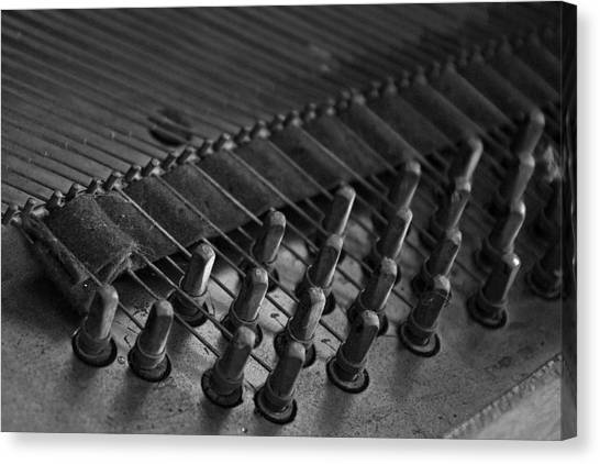 Old Octave Canvas Print by Lionel Martinez