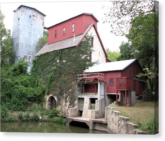 Old Oxford Mill Canvas Print