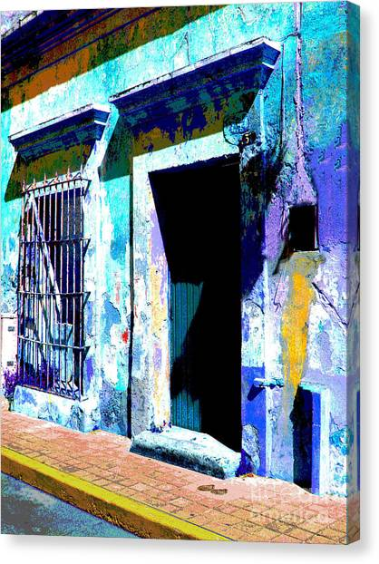 Old Paint By Darian Day Canvas Print by Mexicolors Art Photography