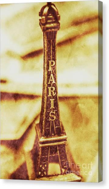 Construction Canvas Print - Old Paris Decor by Jorgo Photography - Wall Art Gallery