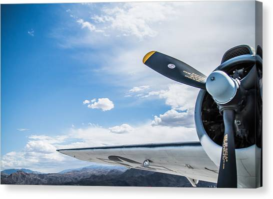 Prop Planes Canvas Print - Old Plane by Hyuntae Kim