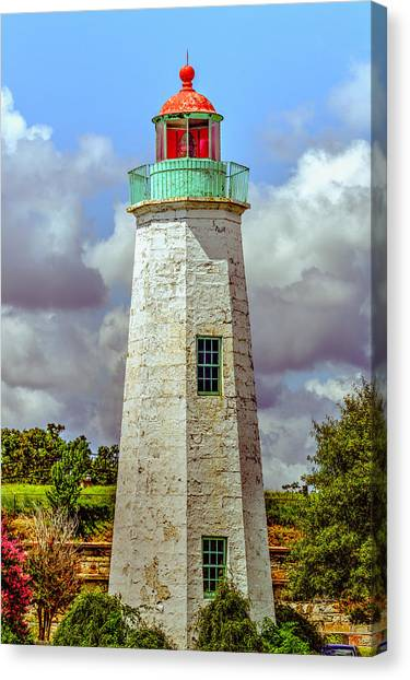 Old Point Comfort Lighthouse Canvas Print