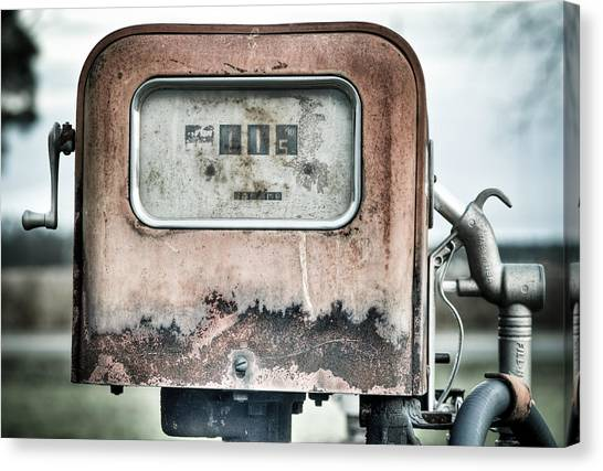 Old Pump Canvas Print