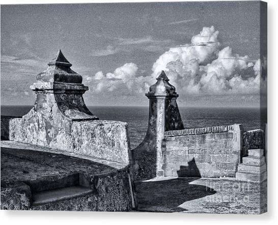 Old San Jaun Fort Canvas Print