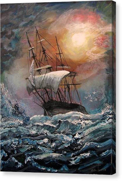 old Ship of Zion Canvas Print