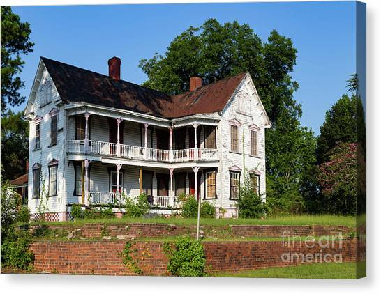 Old Shull Mansion Canvas Print