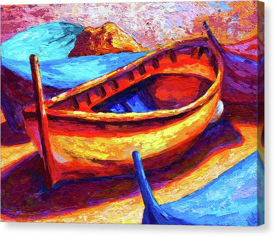 Seashore Canvas Print - Old Soul by Marion Rose