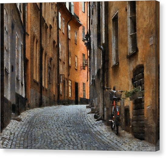 Old Stockholm Canvas Print