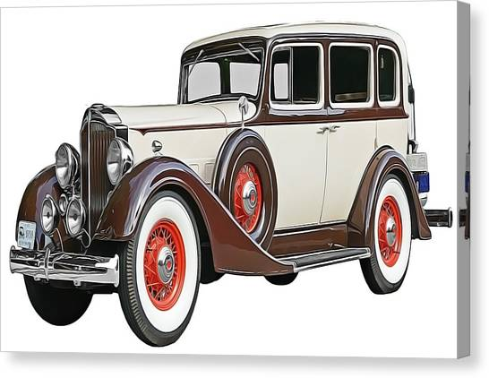 Old Time Auto Canvas Print