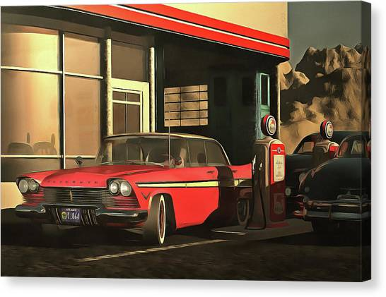 Old-timer Plymouth Canvas Print