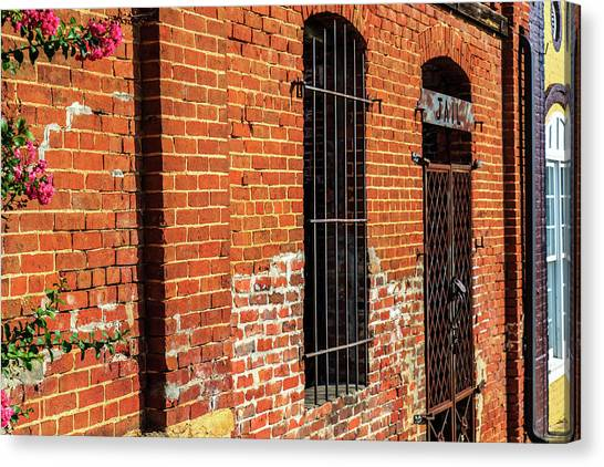 Canvas Print featuring the photograph Old Town Jail by Doug Camara