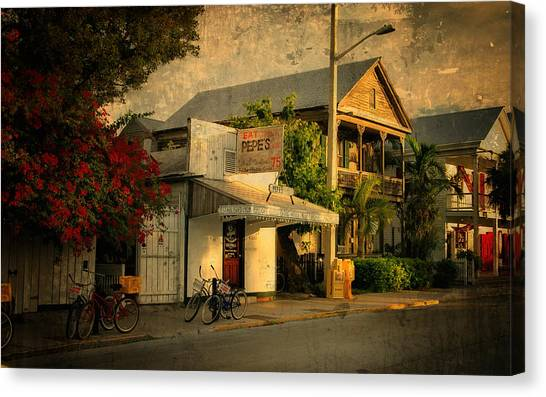 Old Town -  Key West Florida Canvas Print