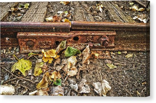 Old Tracks Canvas Print