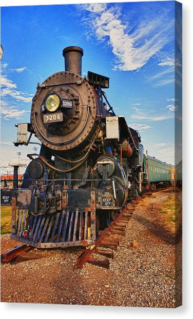 Old Canvas Print - Old Train by Garry Gay
