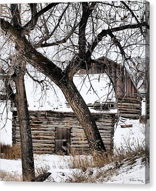 Old Ulm Barn Canvas Print