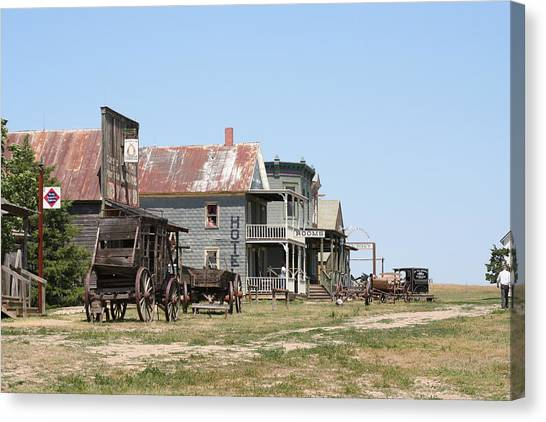 Old West Canvas Print by Gregory Jeffries