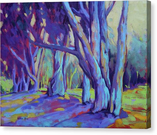 Canvas Print featuring the painting Older And Wiser 3 by Konnie Kim