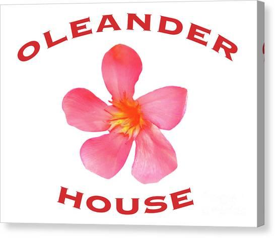 Oleander House Canvas Print