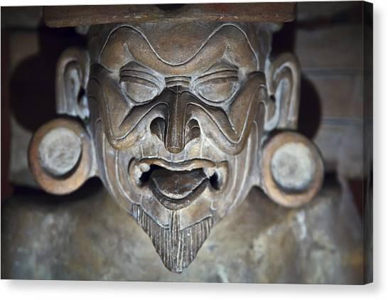 Olmec Statue2 Canvas Print