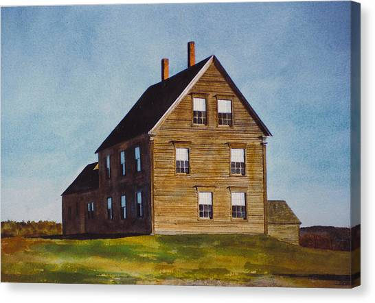 Olsen House Canvas Print
