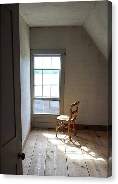 Olson House Chair And Window Canvas Print