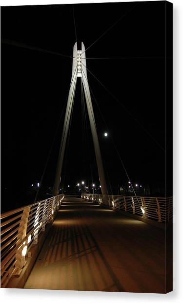 University Of Utah Canvas Print - Olympic Legacy Bridge, University Of Utah by Todd and Ashleigh Madsen