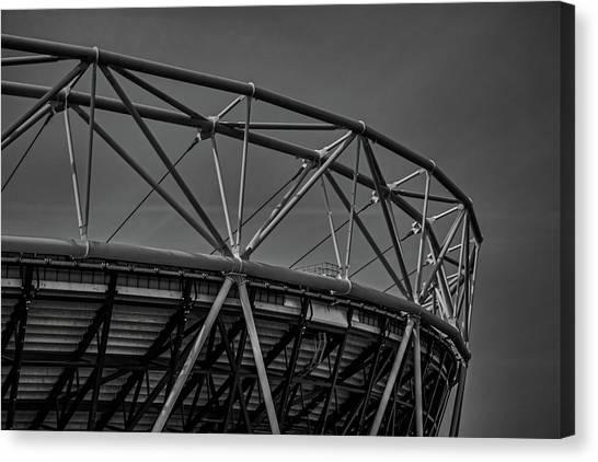 Ham Canvas Print - Olympic Stadium by Martin Newman