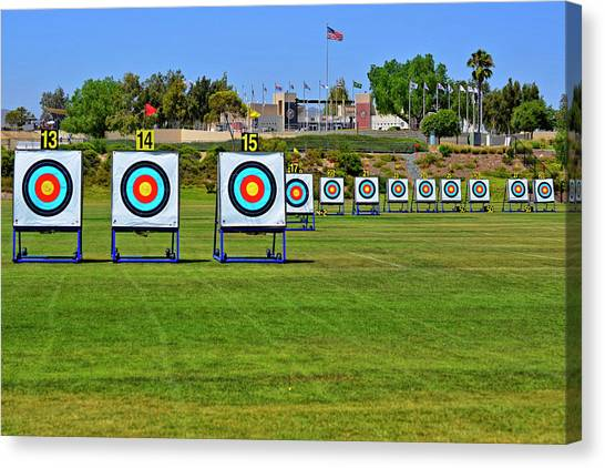 Olympic Training Center  Canvas Print by See My Photos