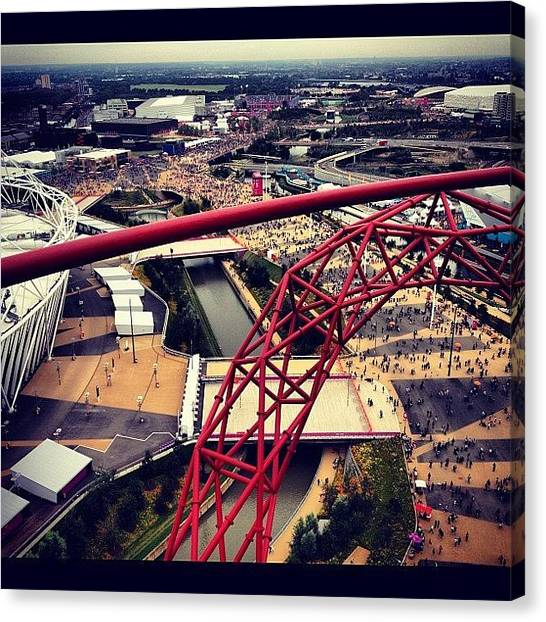 London2012 Canvas Print - #olympics #orbit #london #london2012 by Samantha J