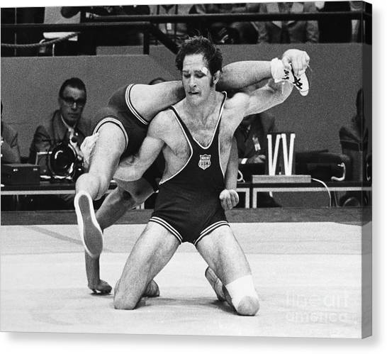 1972 Canvas Print - Olympics: Wrestling, 1972 by Granger