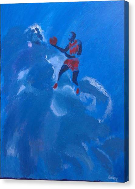 Omaggio A Michael Jordan Canvas Print