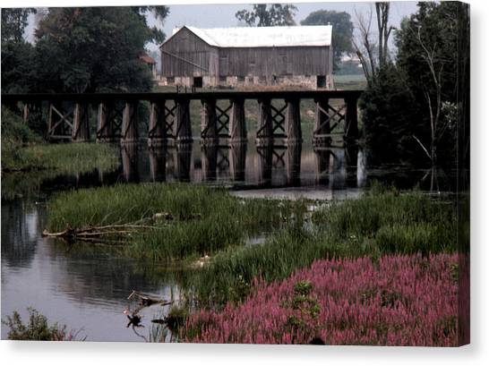 Omemee In The 70 Canvas Print