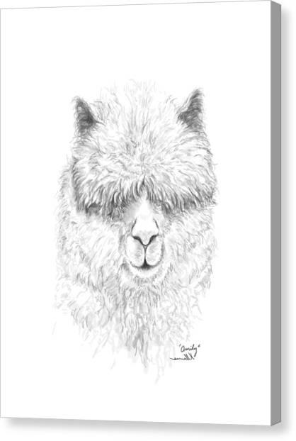 Canvas Print - Omily by K Llamas