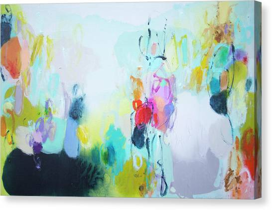Canvas Print - On A Road Less Travelled by Claire Desjardins