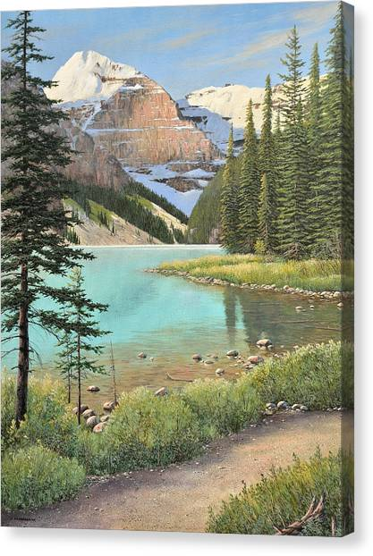 On A Summer's Day Canvas Print
