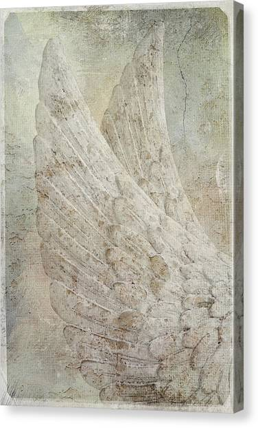 On Angels Wings 2 Canvas Print