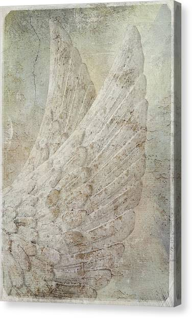 On Angels Wings Canvas Print