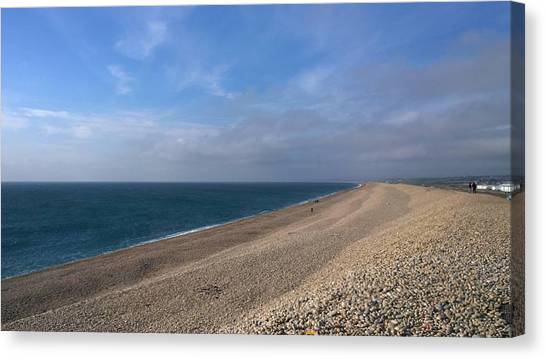 On Chesil Beach Canvas Print