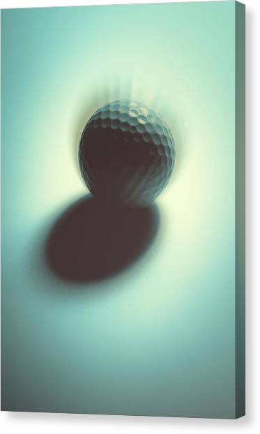 Hole In One Canvas Print - On Edge by Tom Druin