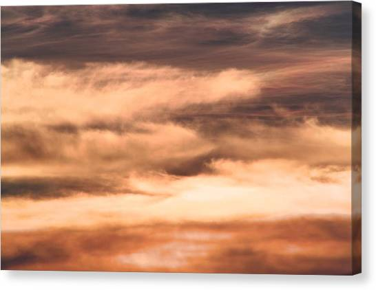 Canvas Print - On Golden Evening by Evelyn Patrick
