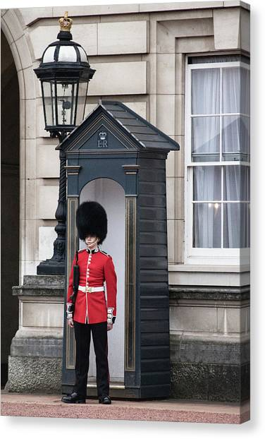 Royal Guard Canvas Print - On Guard by Martin Newman