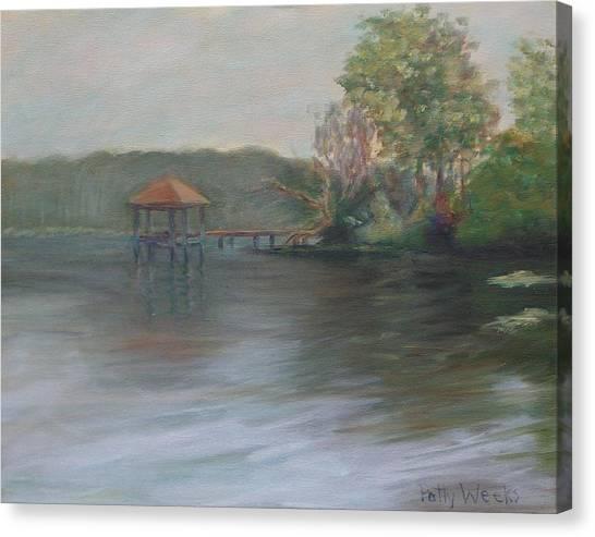 On Julington Creek Canvas Print