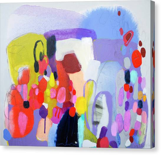 Canvas Print - On My Mind by Claire Desjardins