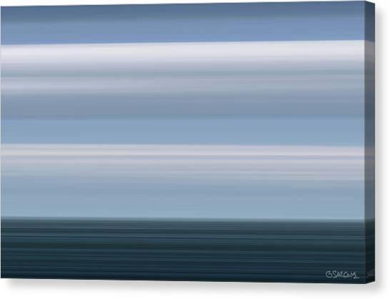 On Sea Canvas Print