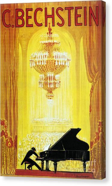 Pianos Canvas Print - On Stage by Jon Neidert