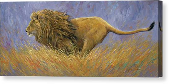 On Target Canvas Print by Lucie Bilodeau