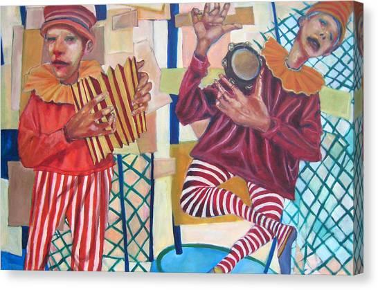 On The Fair Canvas Print by Jonathan Franklin